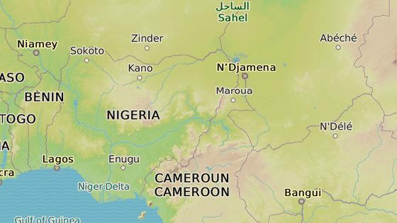 Les Sambisa na severovýchodě Nigérie. Právě zde sídlí sekta Boko Haram a drží zde unesené ženy a děti.