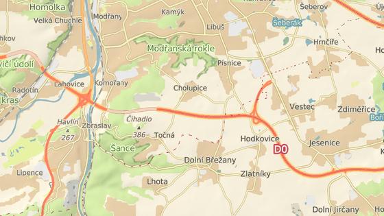 Cholupický tunel na Pražském okruhu