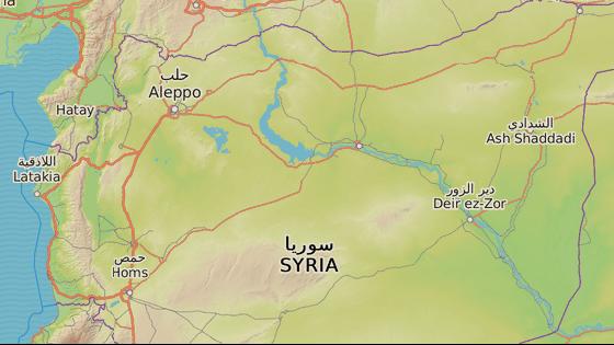 Město Maarat an-Numán, kde stála zničená nemocnice
