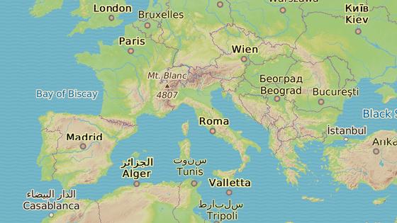 Kr�ta (�erven�), Rhodos (modr�), Korfu (azurov�), Catania (zelen�), Alicante (r�ov�), Saiidia (oran�ov�), Stresa (�lut�)