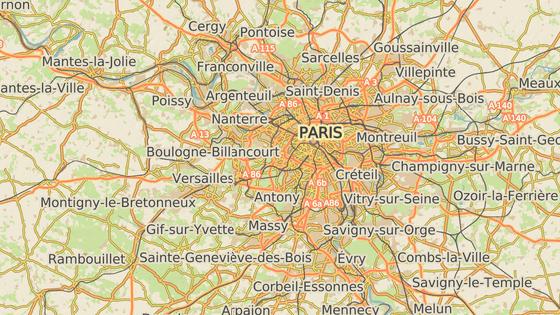 Vesnice Forges-les Bains se nachází třicet kilometrů na jihozápad od Paříže.
