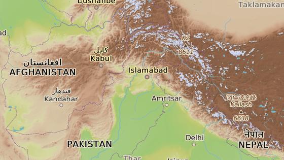 Míránšáh, Pákistán