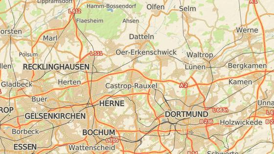 Incident se odehrál ve městě Oer-Erkenschwick, které leží severně od Dortmundu