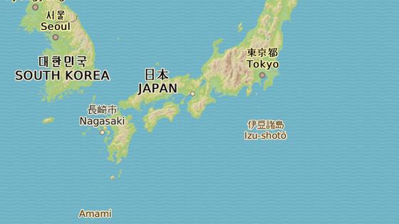 Ostrov Jakušima, Japonsko