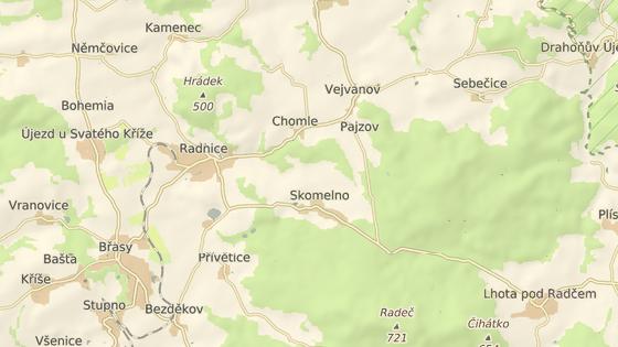 Nehoda se stala poblíž obce Skomelno na Rokycansku.