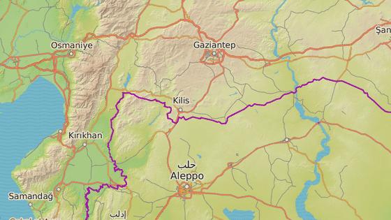 Afrín, Sýrie