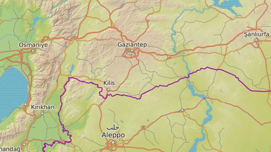 Centrum pro opuštěná a zraněná zvířata leží ve městě Gaziantep asi 40 kilometrů od hranic se Sýrií