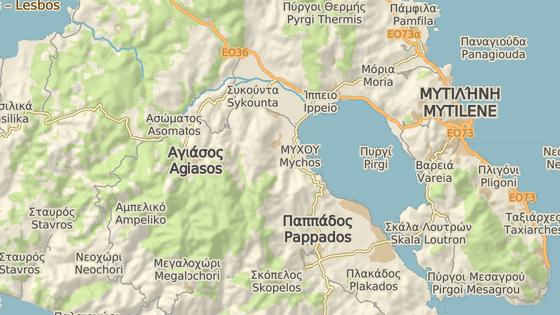 Hřbitov pro migranty na ostrově Lesbos