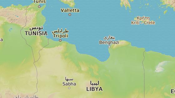 Syrta, Libye