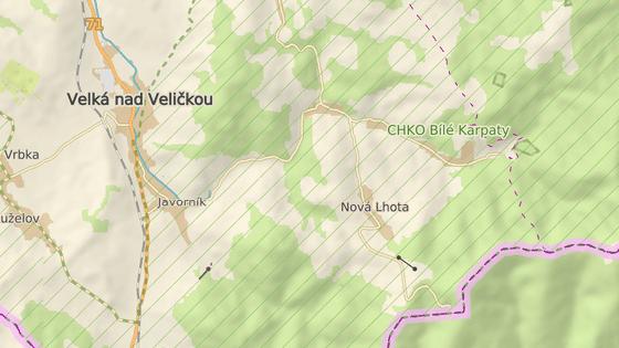Hradisko, Bílé Karpaty