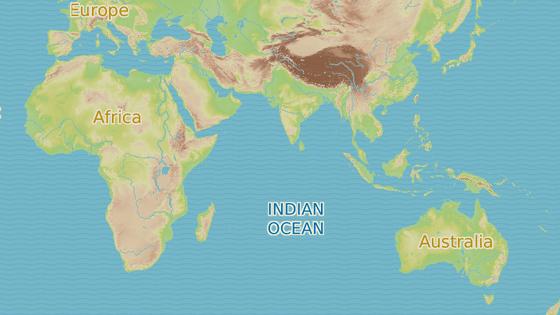 Trosky malajsijského letadla vyplavilo moře v Jižní Africe, Mosambiku, na ostrově Réunion a patrně také na Madagaskaru. Tam našel Blaine Gibson i zavazadla. Šedá ikona značí místo, kde se let MH370 8. března 2014 naposledy ohlásil řízení letového provozu.
