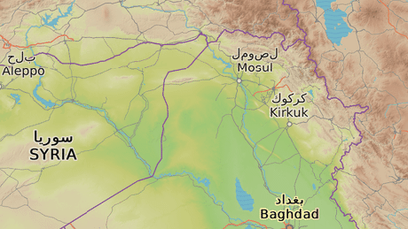 Mosul, milionové město na severu Iráku.