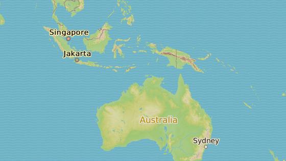Atol Tarawa je součástí Gilbertových ostrovů