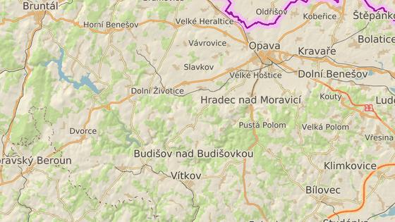 Jánské Koupele leží v nádherném údolí řeky Moravice na Opavsku.