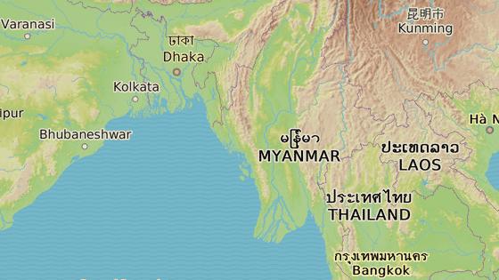 Arakanský stát, Barma
