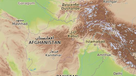 Provincie Zábul, Afghánistán