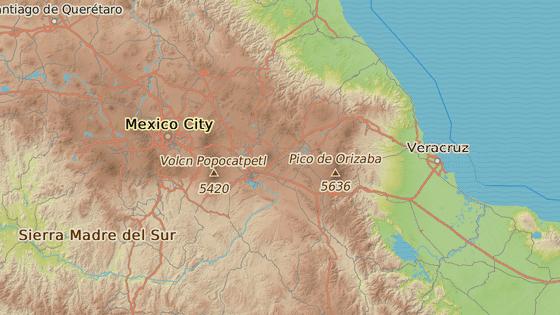Neštěstí se odehrálo ve městě Chilchotla