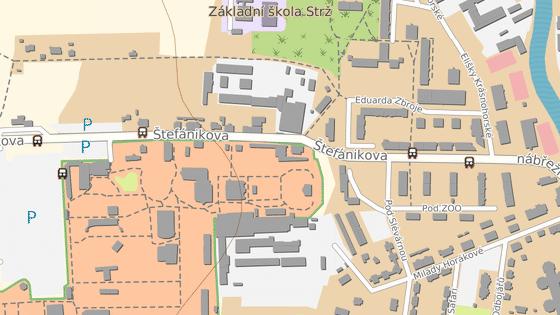 Oprava vozovky uzavřela Štefánikovu ulici z centra Dvora Králové. Turisté musejí do zoo dlouhou objížďkou přes Bílou Třemešnou.