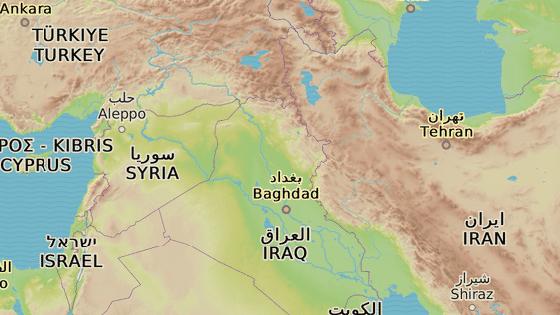 Mosul se nachází na severu Iráku nedaleko Irbílu a Kirkúku.