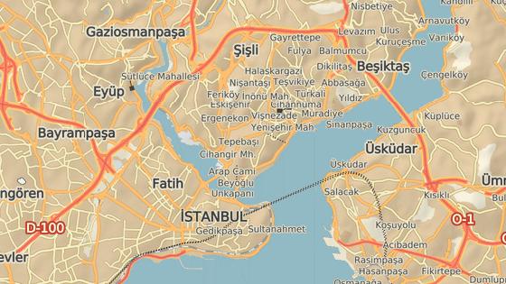 Bulvár Istiklal, kde došlo k sobotní explozi