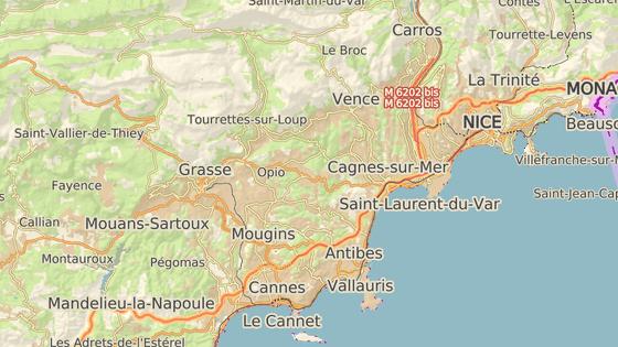 Útok se odehrál na jihu Francie nedaleko Cannes