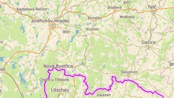 Nehoda se stala v Nové Bystřici na Jindřichohradecku.