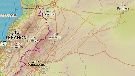 Karjatajn, Sýrie