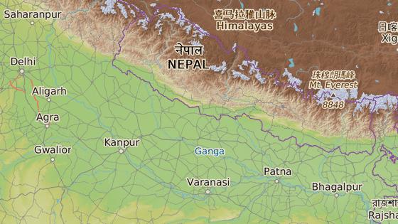 """""""Opičí"""" dívku našli těsně u nepálských hranic v severoindickém státě Uttarpradéš"""