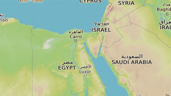 Sinaj, Egypt