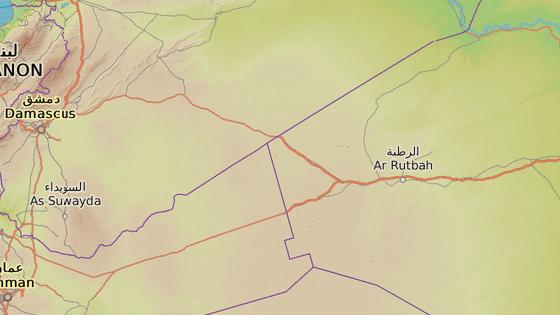 Trojmezí Jordánska, Iráku a Sýrie
