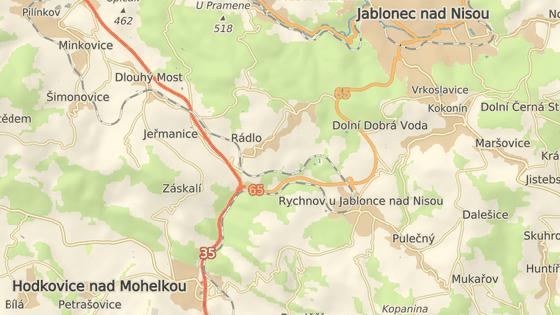 Svodidla se budou vyměňovat v úseku mezi Hodkovicemi nad Mohelkou a Jeřmanicemi.