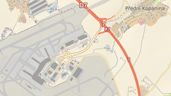 Omezení v ulici Aviatická od 15. 9. do 30. 11. (červená značka) a v ulici Lipská od 14. 9. do 11. 11. (modrá značka)