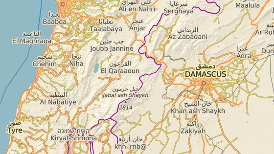Darája se nachází nedaleko Damašku