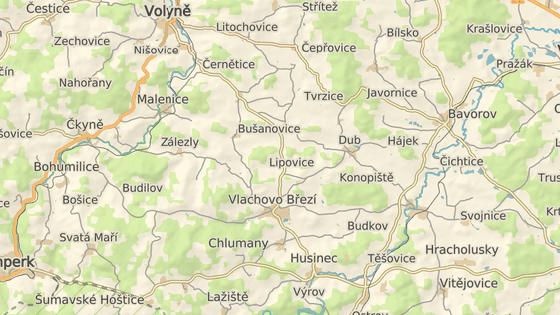 Nehoda se stala mezi Tvrzicemi a Újezdcem.