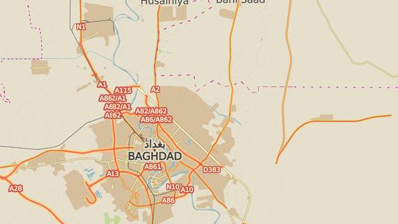 Čtvrť Sadr v Bagdádu