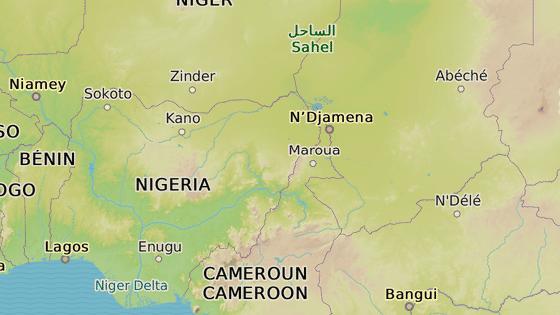 M�sto Chibok na severu Nig�rie