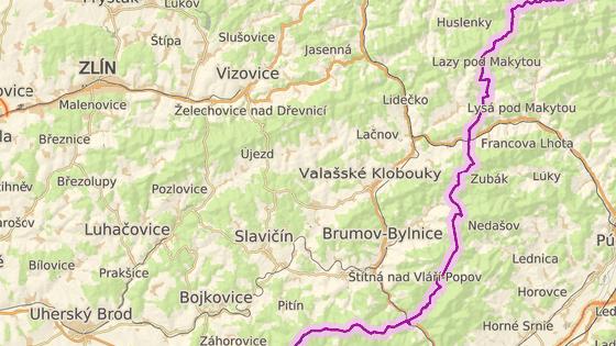 Přehrada má vzniknout mezi obcemi Vlachovice, Vlachova Lhota, Vysoké Pole a Újezd.