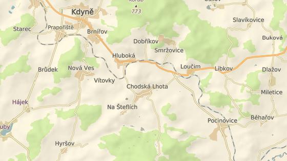 Nehoda se stala v obci Chodská Lhota na Domažlicku.