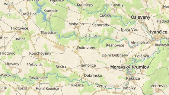 Bobři se zabydleli u nádrže v areálu Jaderné elektrárny v Dukovanech.
