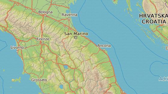 Oblast kolem Ancony