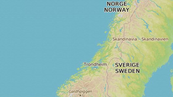 Událost se stala poblíž norského města Rörvik.