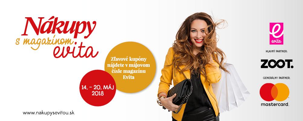 Nákupy s magazínom Evita opäť na Slovensku