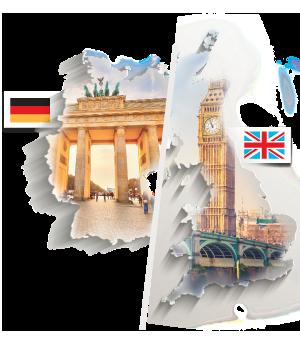 Souběžné letní kurzy angličtiny a němčiny