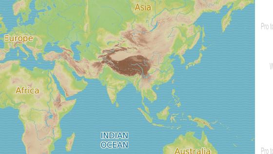 Sundský průliv (modrá značka), Severní Korea (červená)