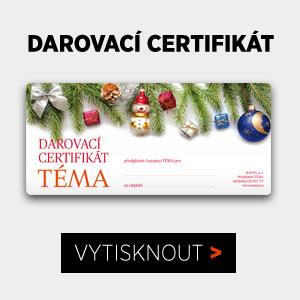 Darovací certifikát k předplatnému